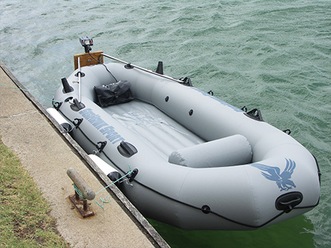 inflatable inflatable boat material with tensile strength for outside XYQY-21