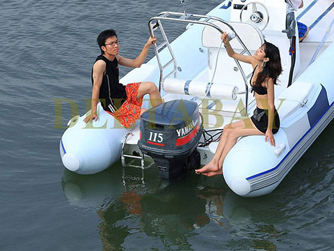 XYQY waterproof pvc inflatable boat with high tearing for outside-22