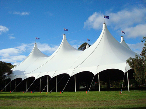 XYQY roofing membrane tent structures manufacturers for inflatable membrance-23