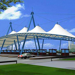 XYQY membrane tensile membrane structure for business for Exhibition buildings ETC-13