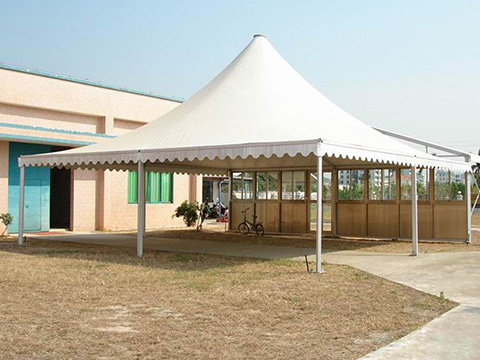 fire retardent rain flap for tent house for business for carport-21