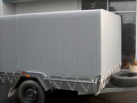 XYQY Brand waterproof coated container side curtain truck tarpaulin-XYQY-img-2