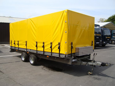 video-XYQY Brand waterproof coated container side curtain truck tarpaulin-XYQY-img-2