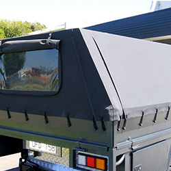 XYQY fire retardent dump truck tarps to meet any of your requirements for truck container-13
