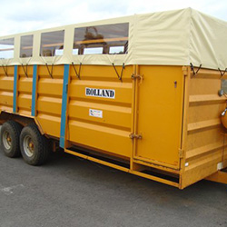 XYQY fire retardent dump truck tarps to meet any of your requirements for truck container-14