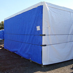 XYQY fire retardent dump truck tarps to meet any of your requirements for truck container-17