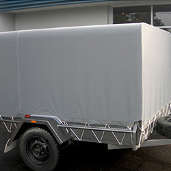 XYQY fire retardent dump truck tarps to meet any of your requirements for truck container-18