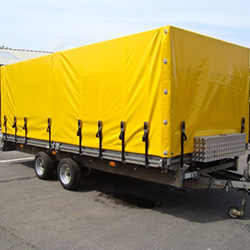 XYQY fire retardent dump truck tarps to meet any of your requirements for truck container-19