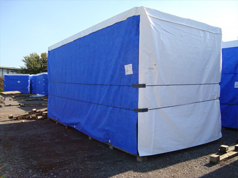 XYQY fire retardent dump truck tarps to meet any of your requirements for truck container-23