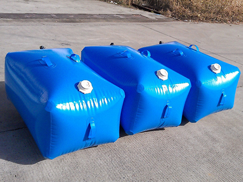 Custom potable water pillow tanks tarpaulin for agriculture-24