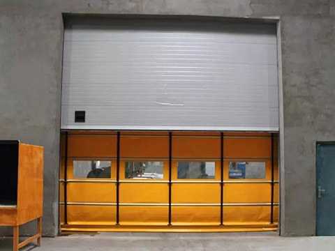 custom pvc tarpaulin fabric pvc to meet any of your requirements for rolling door-25