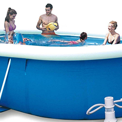 XYQY durable pool covers automatic retractable for inflatable pools.-13