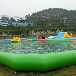 High-quality automatic swimming pool covers inground durable factory for inflatable pools.-15