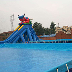 High-quality automatic swimming pool covers inground durable factory for inflatable pools.-18