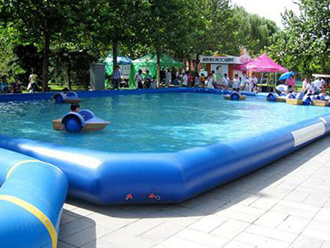 High-quality automatic swimming pool covers inground durable factory for inflatable pools.-21