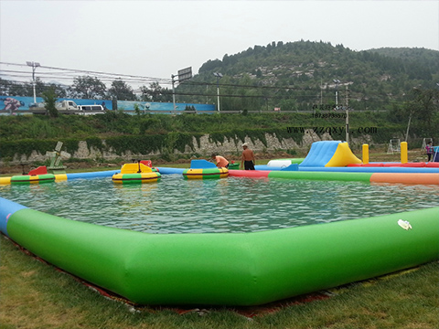 High-quality automatic swimming pool covers inground durable factory for inflatable pools.-22