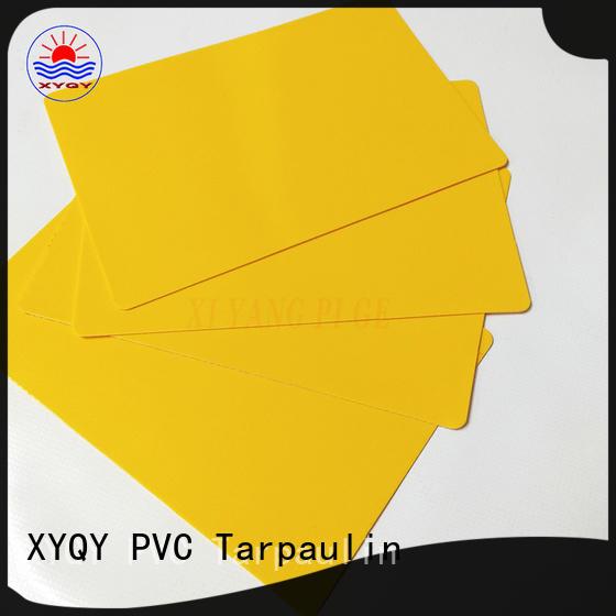 XYQY waterproof Tarpaulin Fabric for Rolling Door Suppliers for outdoor