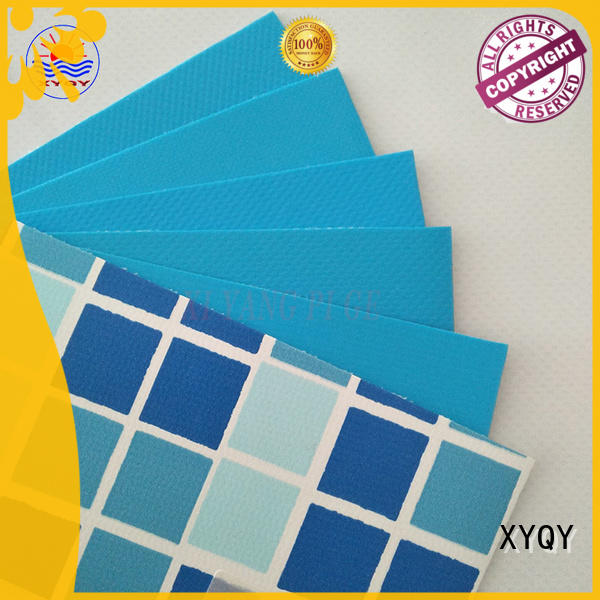 XYQY coated swimming pool liner fabric factory for men