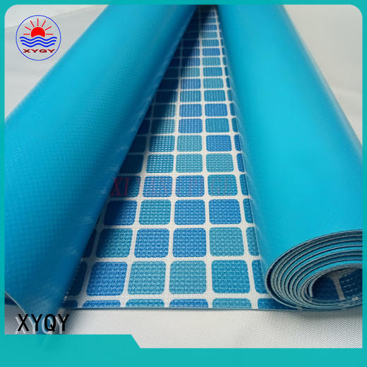 XYQY material heavy duty clear pvc fabric for business for swimming pool