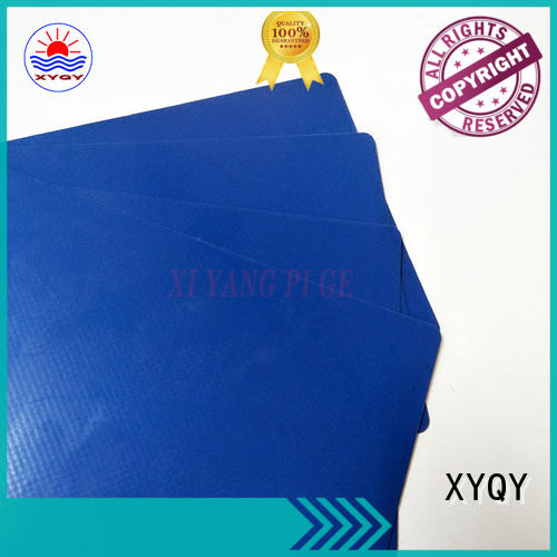 XYQY colorful tarpaulin materials fabrics for outdoor