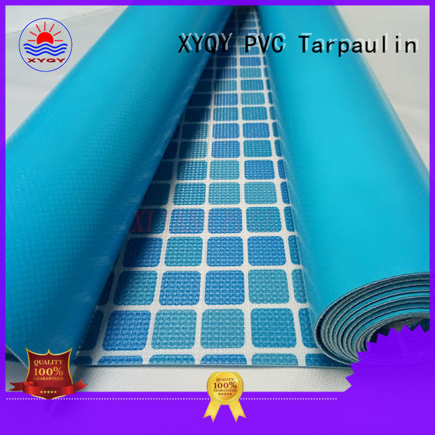 Wholesale coated tarpaulin swimming pool fabric XYQY Brand