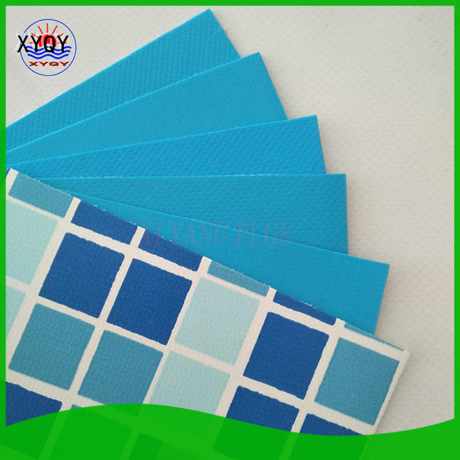 XYQY coated liner pool construction Suppliers for swimming pool backing