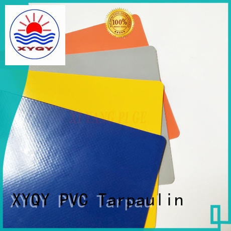 XYQY custom pvc tarpaulin fabric factory for rolling door