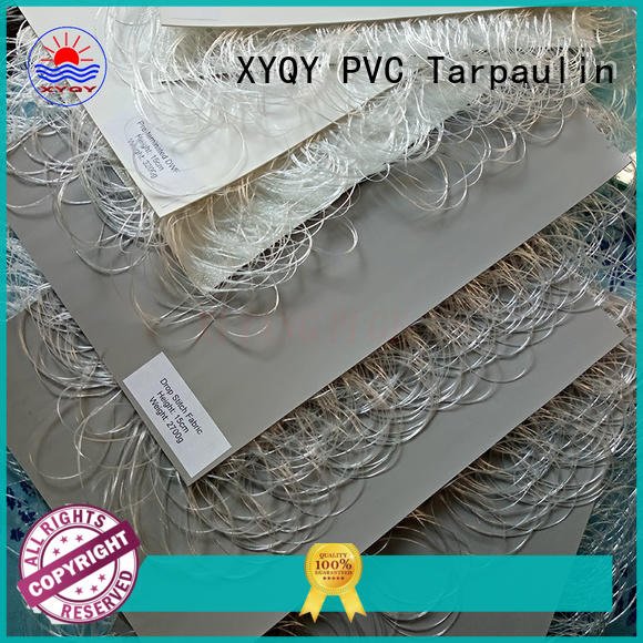 XYQY fire retardent drop stitch fabric to meet any of your requirements for lifting cushions
