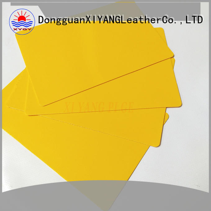 XYQY coated pvc coated tarpaulin fabric factory for rolling door