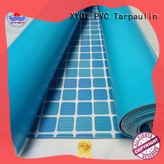 XYQY pvc swimming pool backing fabric Supply for men