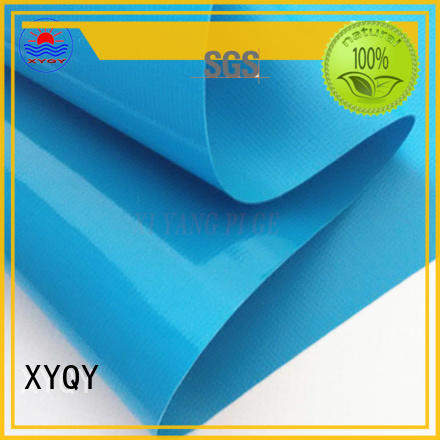 XYQY non-toxic environmental pvc fabric with high tearing for indoor