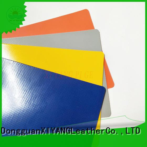XYQY coated waterproof tarpaulin fabric for outdoor