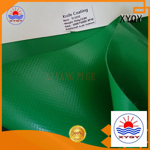 XYQY pvc pvc tarpaulin for inflatable membrance