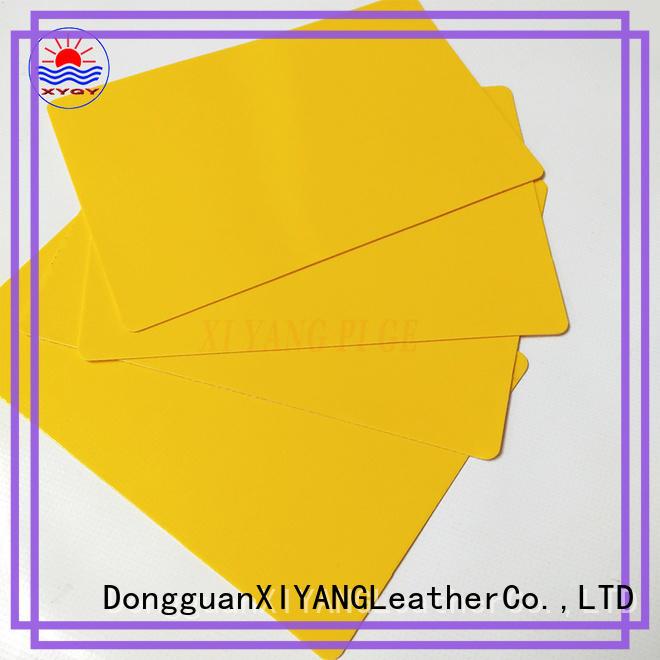 XYQY pvc tarpaulin materials fabrics for rolling door