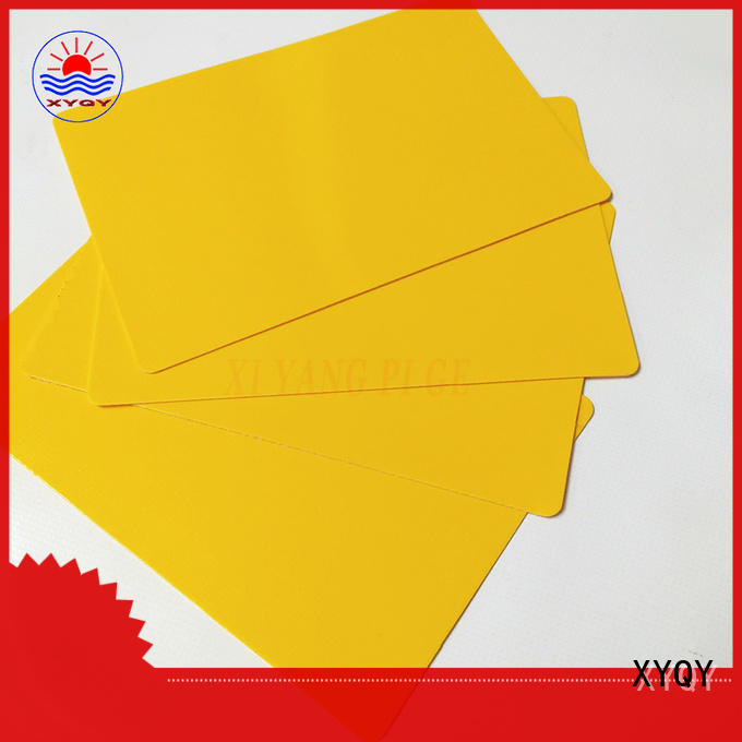 XYQY coated pvc tarpaulin fabric for rolling door
