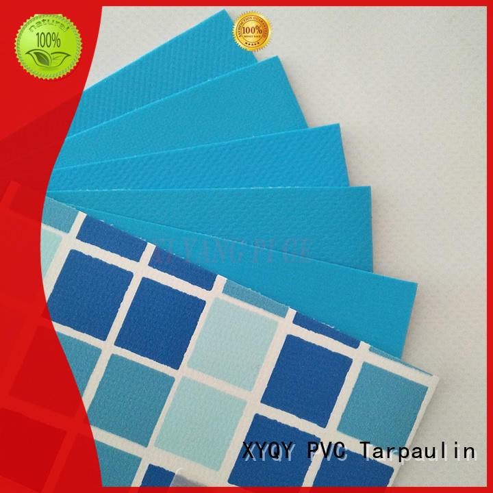 XYQY swimming waterproof tarpaulin on sale for swimming pool