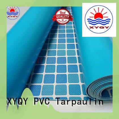XYQY material waterproof tarpaulin to meet any of your requirements for swimming pool backing
