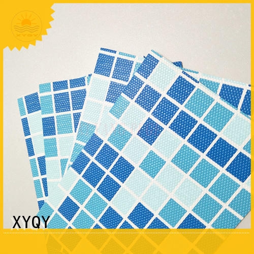 XYQY material 24 x 48 round pool liner for business for swimming pool backing