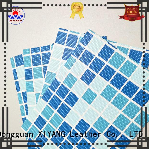 pvc swimming pool fabric coated swimming pool fabric XYQY Brand