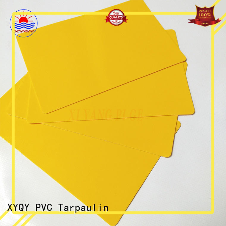 XYQY strength pvc tarpaulin fabric for outdoor