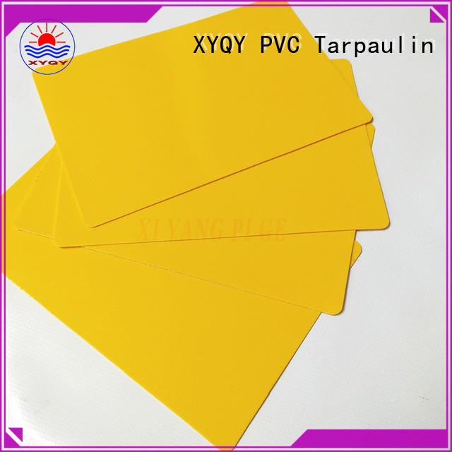 XYQY New tarpaulin fabric Supply for outdoor