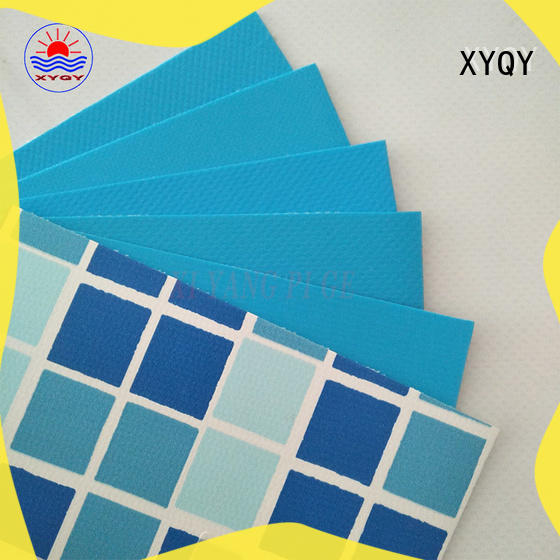 XYQY material pvc membrane swimming pool factory for men
