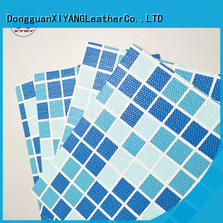 XYQY swimming different types of above ground pool liners factory for swimming pool backing