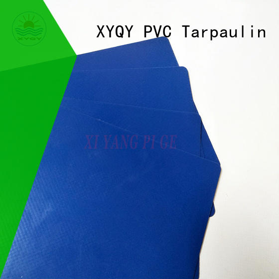 XYQY high quality pvc coated tarpaulin fabric for outdoor