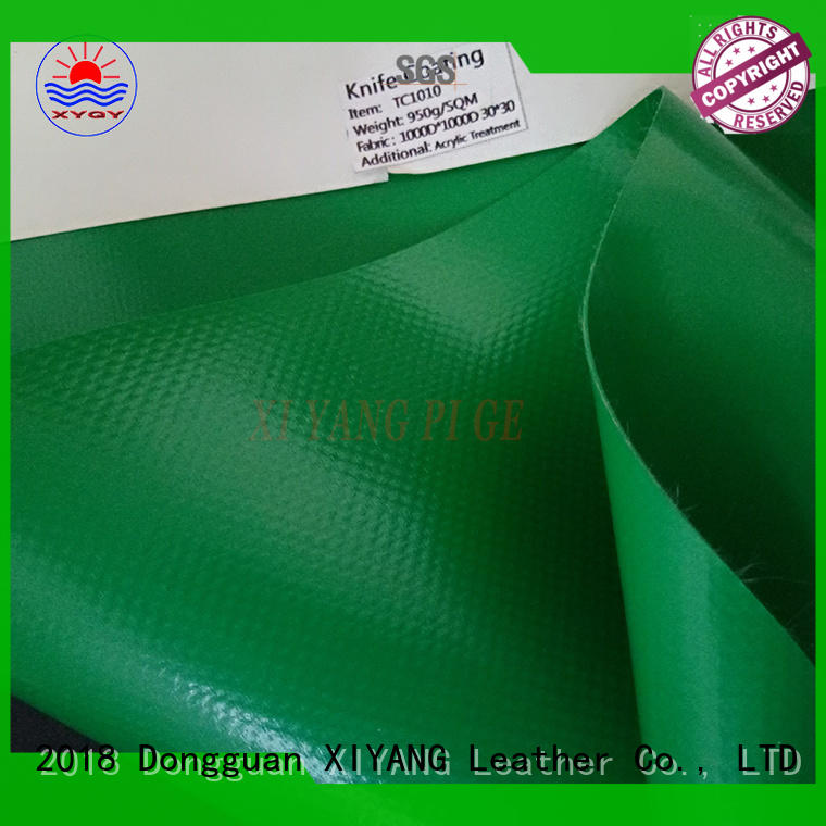 XYQY Brand building tension heavy duty pvc tarpaulin protection factory