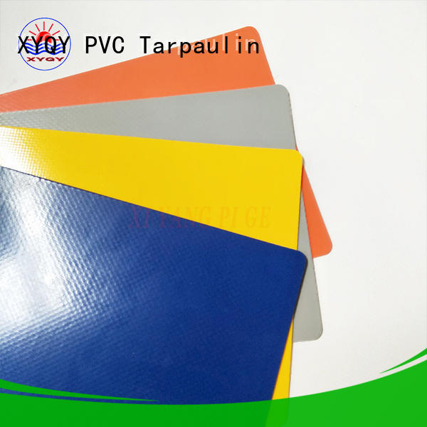 XYQY waterproof pvc coated tarpaulin fabric suppliers Suppliers for outdoor