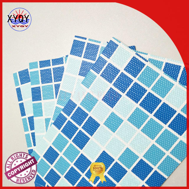 XYQY tarpaulin heavy duty clear pvc fabric for business for swimming pool backing