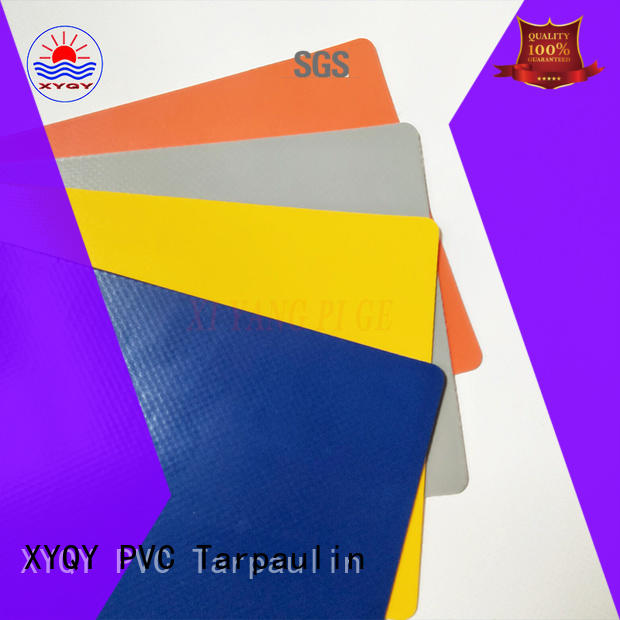 XYQY Brand side waterproof custom rolling door tarpaulin fabric