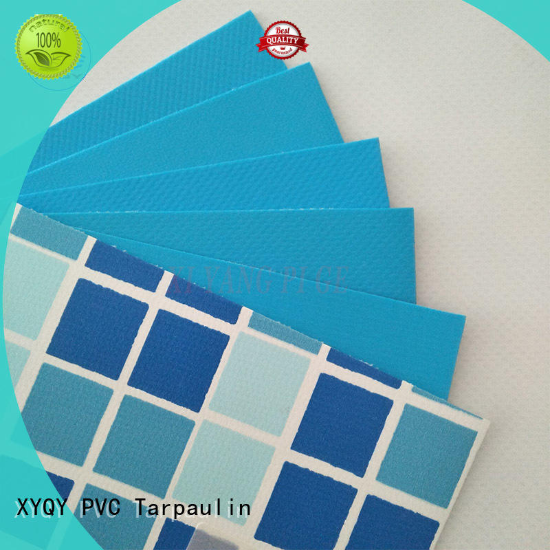UV Resistant clear pvc fabric coated with good quality and pretty competitive price for swimming pool backing