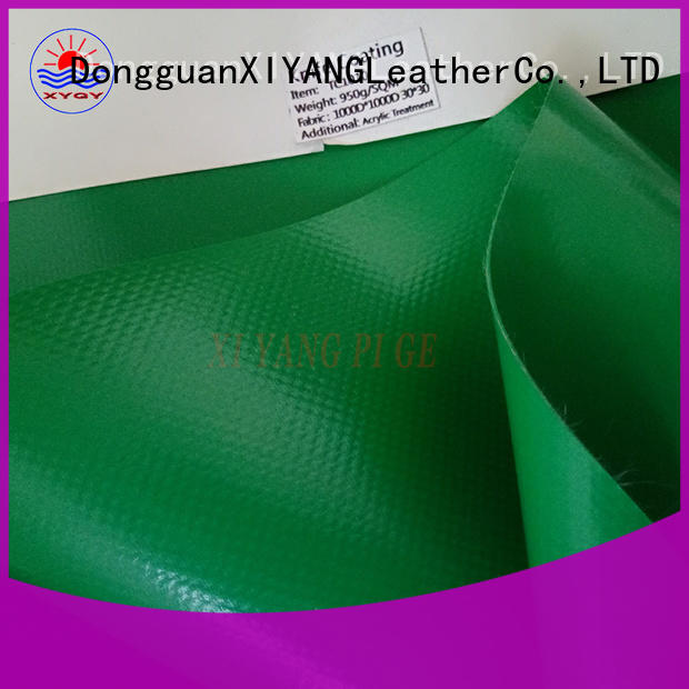 XYQY pvc fabric architecture details manufacturers for inflatable membrance